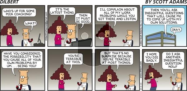 Dilbert - Sunday October 6, 2013 Comic Strip