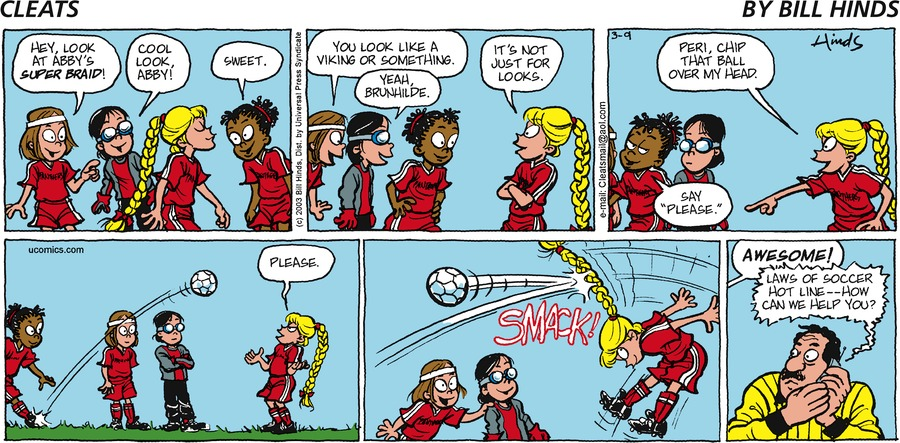 Cleats by Bill Hinds on Mon, 15 Feb 2021
