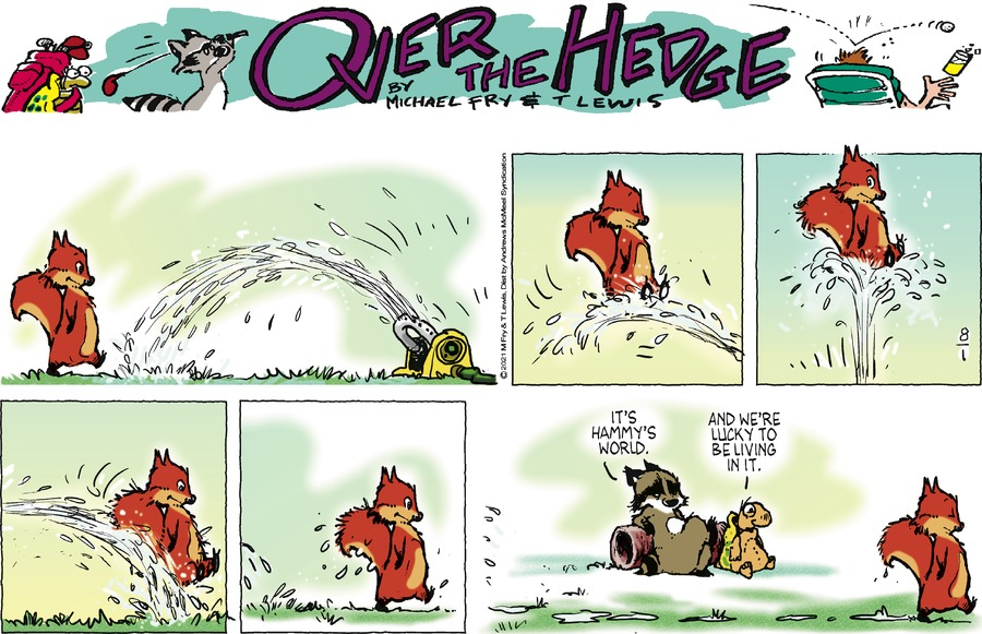 Over the Hedge Comic Strip for August 01, 2021