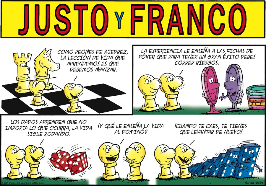 Justo y Franco by Thaves on Sun, 24 Oct 2021