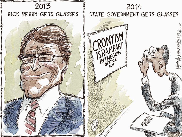 Nick Anderson for Sep 28, 2014 Comic Strip