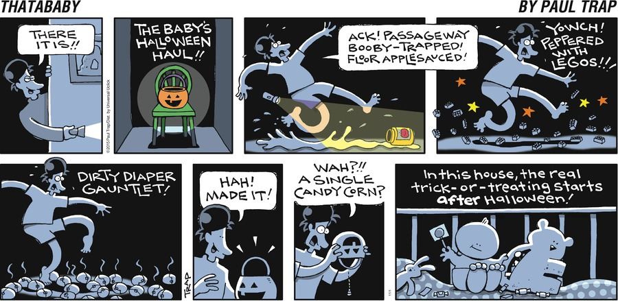 Thatababy Comic Strip for November 01, 2015