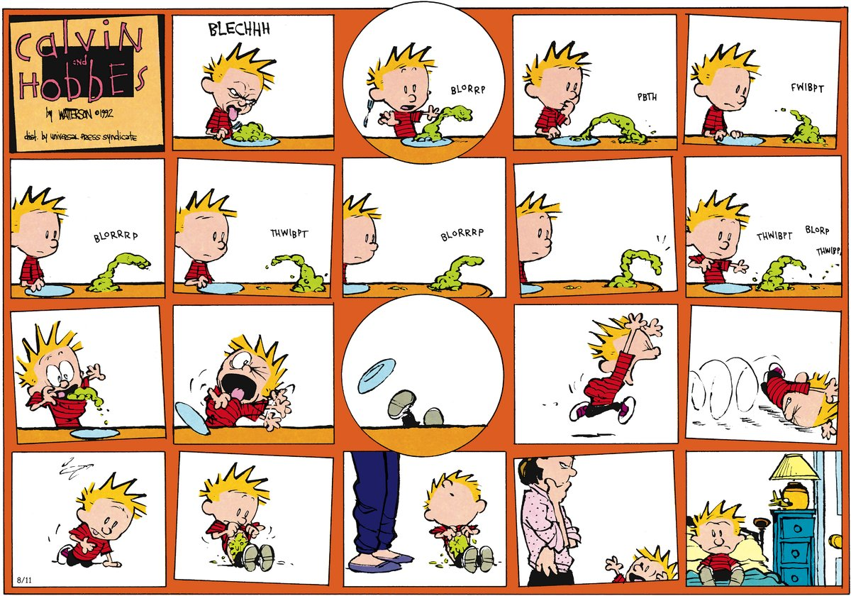Calvin and Hobbes Comic Strip for September 30, 2012