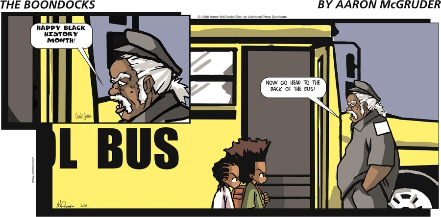 The Boondocks Comic Strip for May 09, 2021