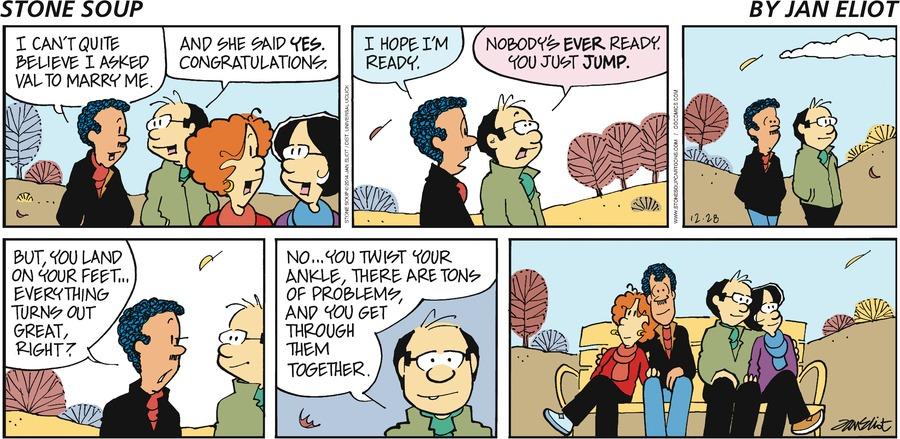 Stone Soup Comic Strip for December 28, 2014