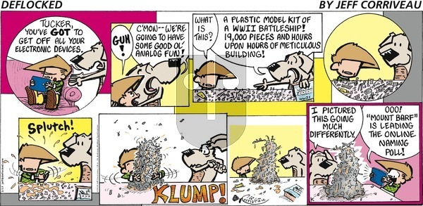 DeFlocked on Sunday February 17, 2019 Comic Strip