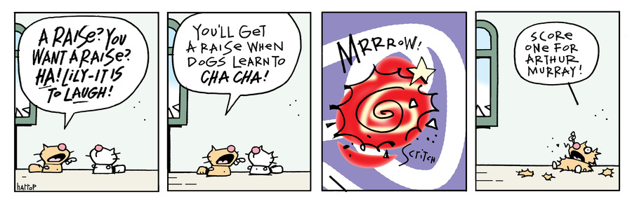 Ten Cats Comic Strip for May 04, 2021