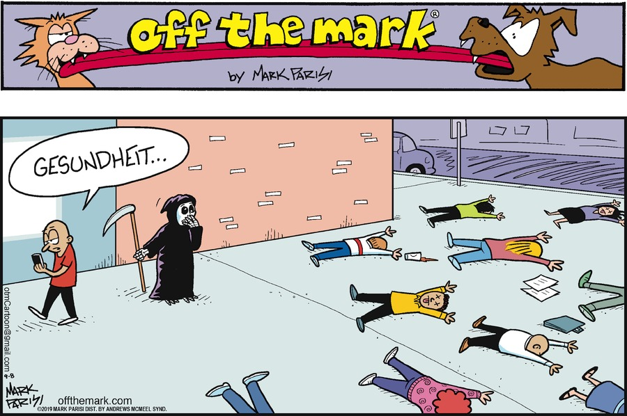 Off the Mark by Mark Parisi for September 08, 2019
