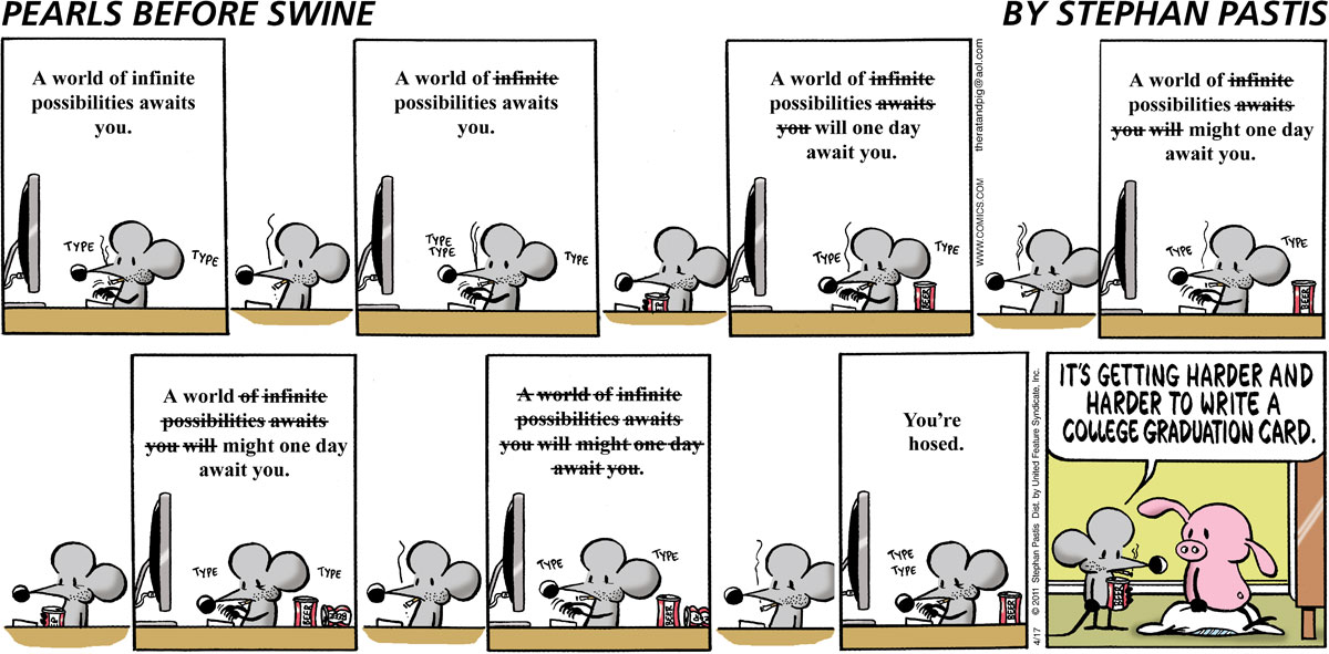 Pearls Before Swine for Apr 17, 2011 Comic Strip