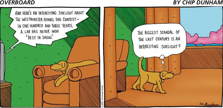 Overboard for Nov 14, 2010 Comic Strip