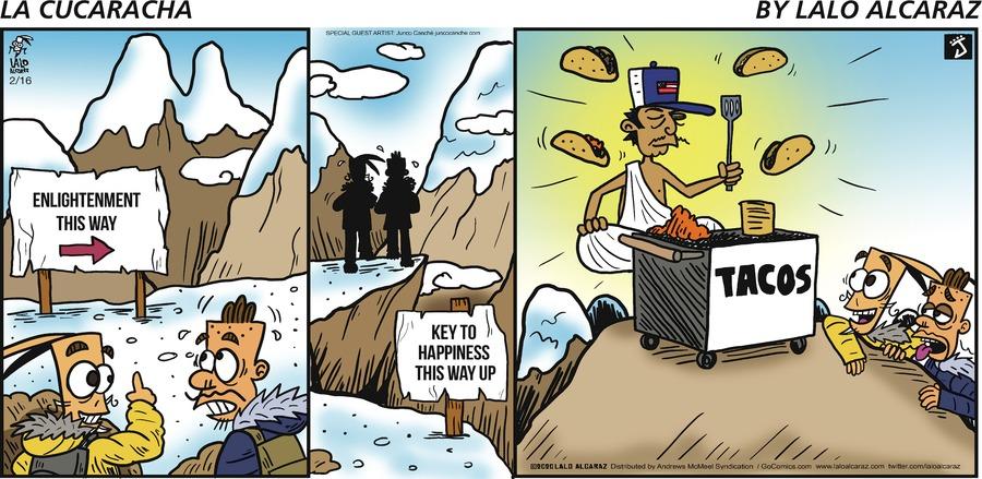 La Cucaracha Comic Strip for February 16, 2020