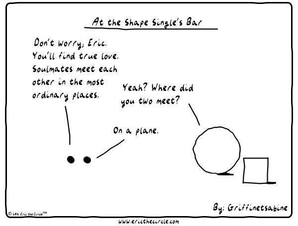Eric the Circle for Sep 28, 2014 Comic Strip