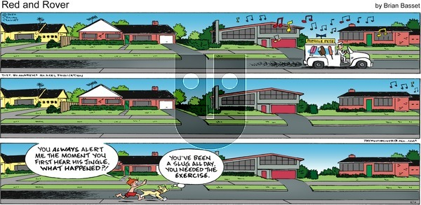 Red and Rover on Sunday August 16, 2020 Comic Strip