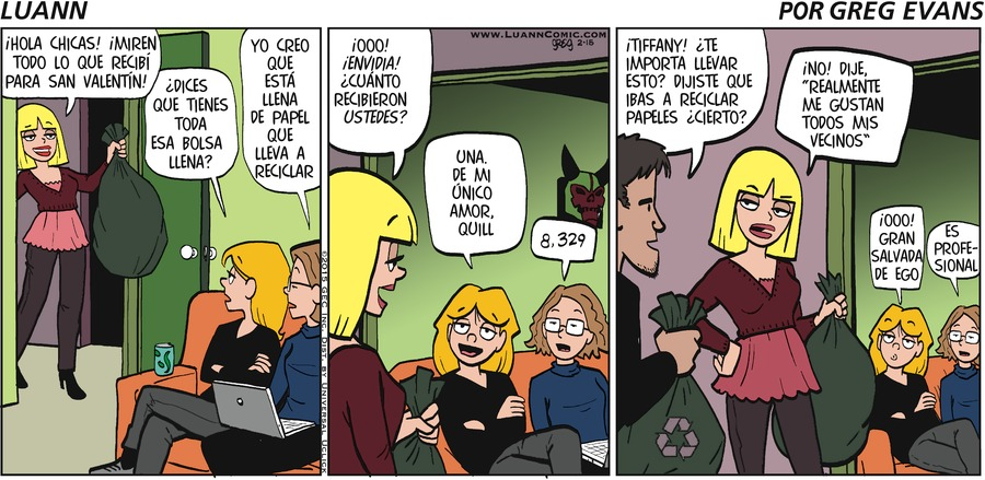 Luann en Español by Greg Evans on Sun, 10 Oct 2021