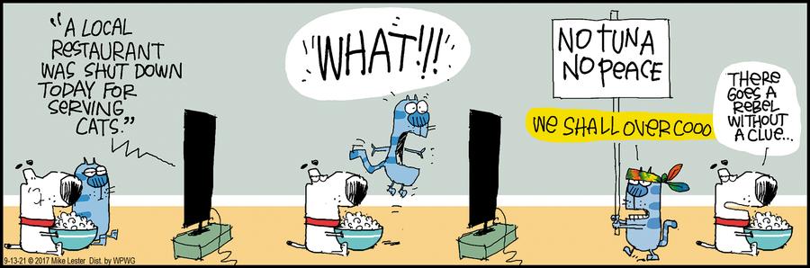 Mike du Jour Comic Strip for September 13, 2021