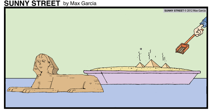 Sunny Street Comic Strip for May 10, 2013