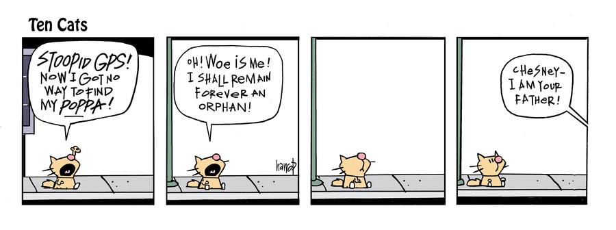 Ten Cats Comic Strip for June 16, 2021