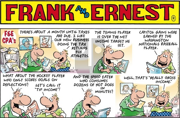Frank and Ernest on Sunday March 17, 2019 Comic Strip