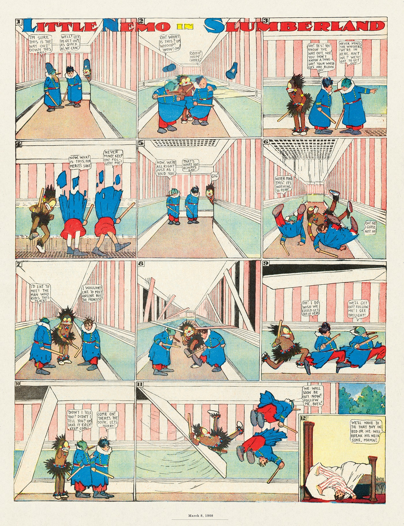 Little Nemo by Winsor McCay on Thu, 24 Sep 2020