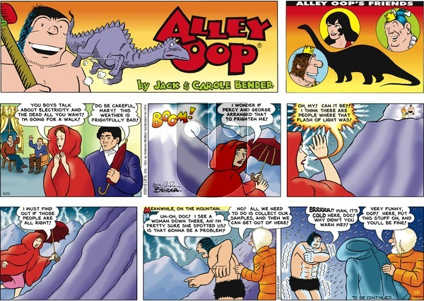 Alley Oop on Sunday September 23, 2018 Comic Strip