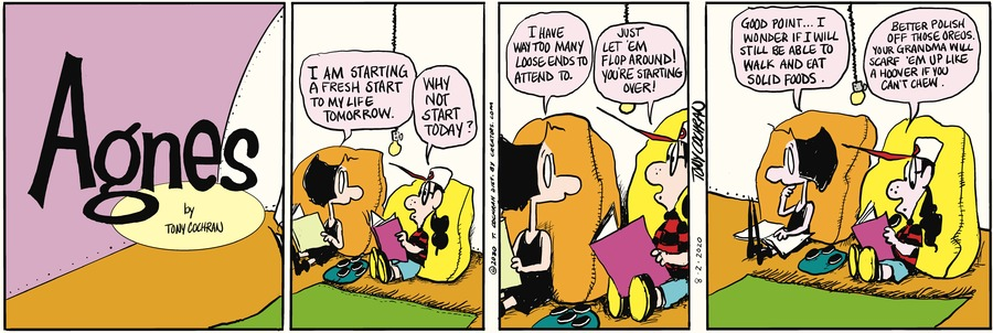 Agnes Comic Strip for August 02, 2020