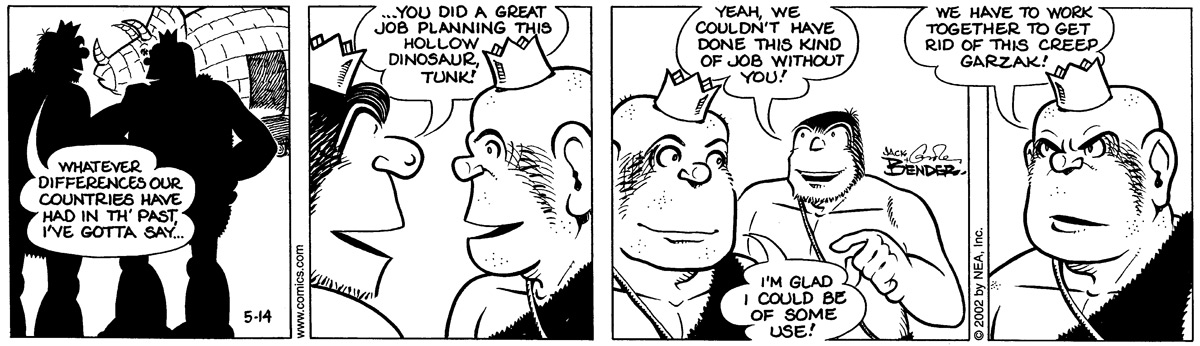 Alley Oop for May 14, 2002 Comic Strip