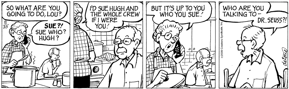 One Big Happy Comic Strip for September 21, 2021