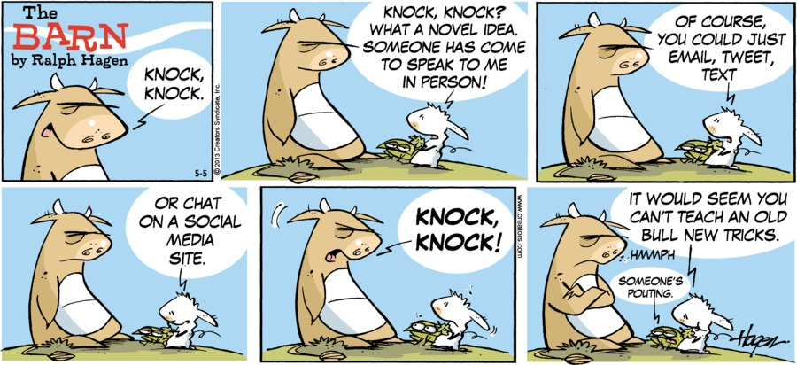 The Barn Comic Strip for May 05, 2013