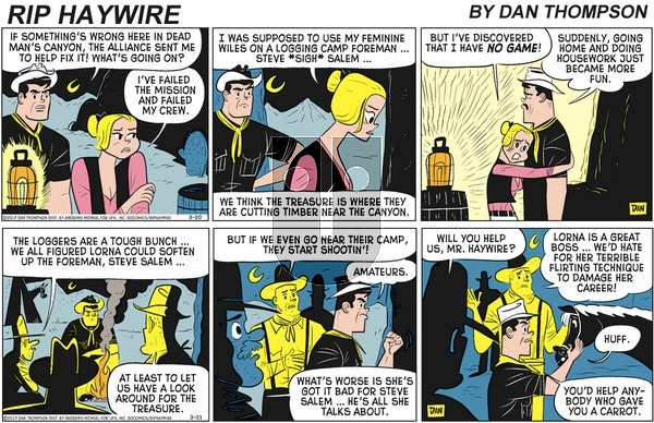 Rip Haywire on Sunday May 10, 2020 Comic Strip