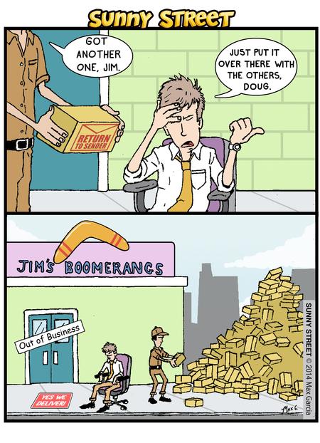 Sunny Street Comic Strip for February 20, 2014