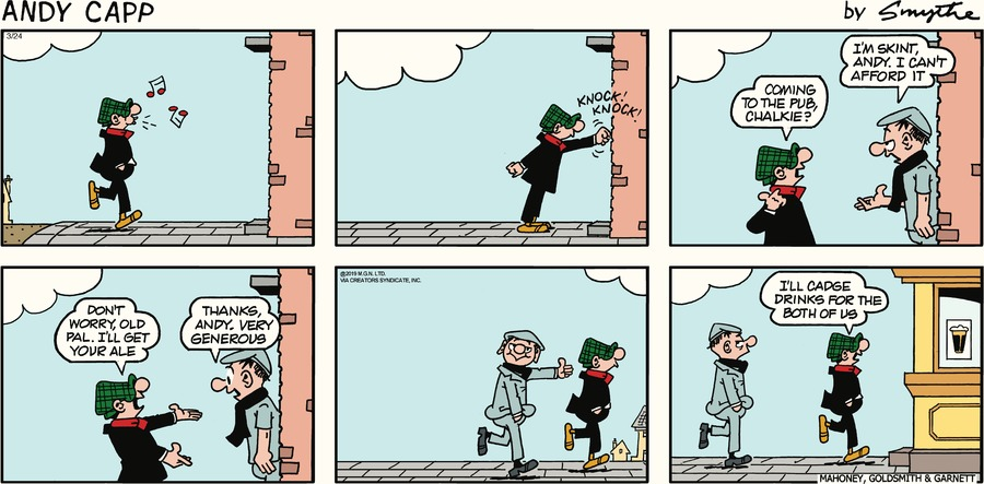 Andy Capp by Reg Smythe for March 24, 2019