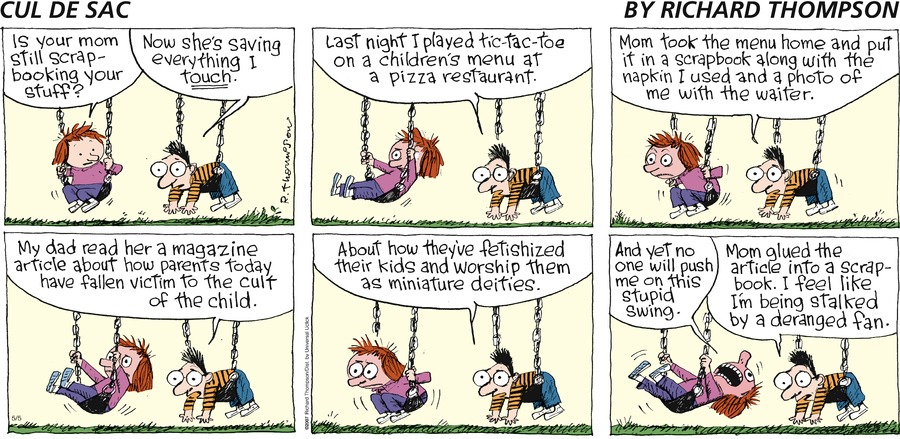 Cul de Sac for May 5, 2013 Comic Strip