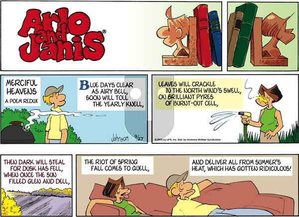 Arlo and Janis on Sunday September 27, 2020 Comic Strip