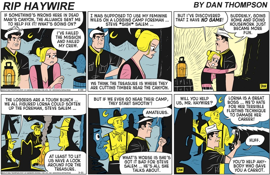 Rip Haywire Comic Strip for May 10, 2020