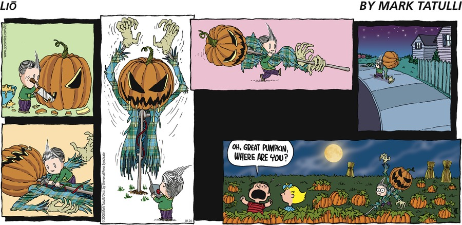 Charlie Pumpkin: Oh, Great Pumpkin, where are you?