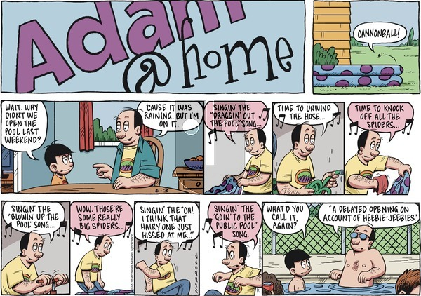 Adam@Home on Sunday June 3, 2018 Comic Strip