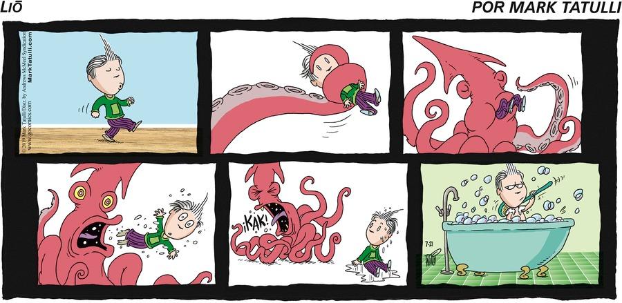 Lio en Español Comic Strip for July 21, 2019