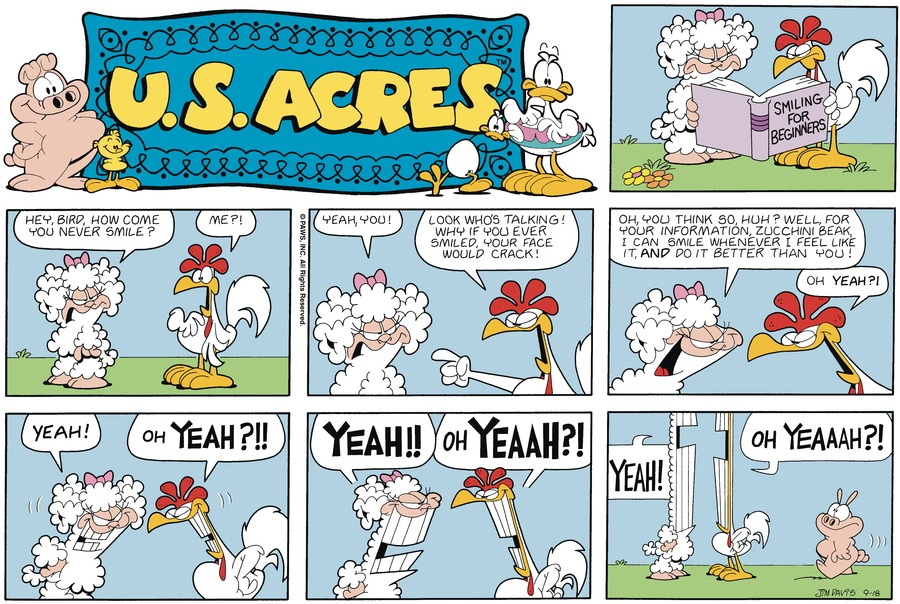 U.S. Acres Comic Strip for December 22, 2019