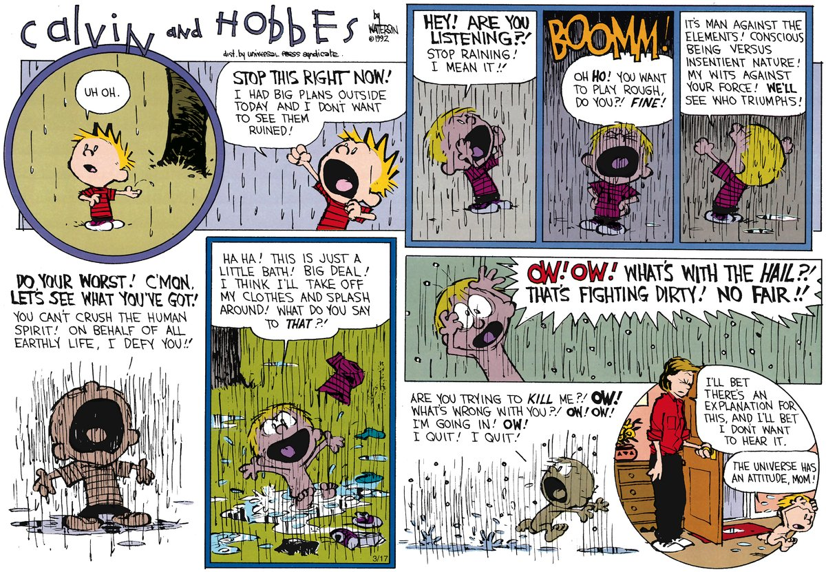 Calvin and Hobbes for May 6, 2012 Comic Strip