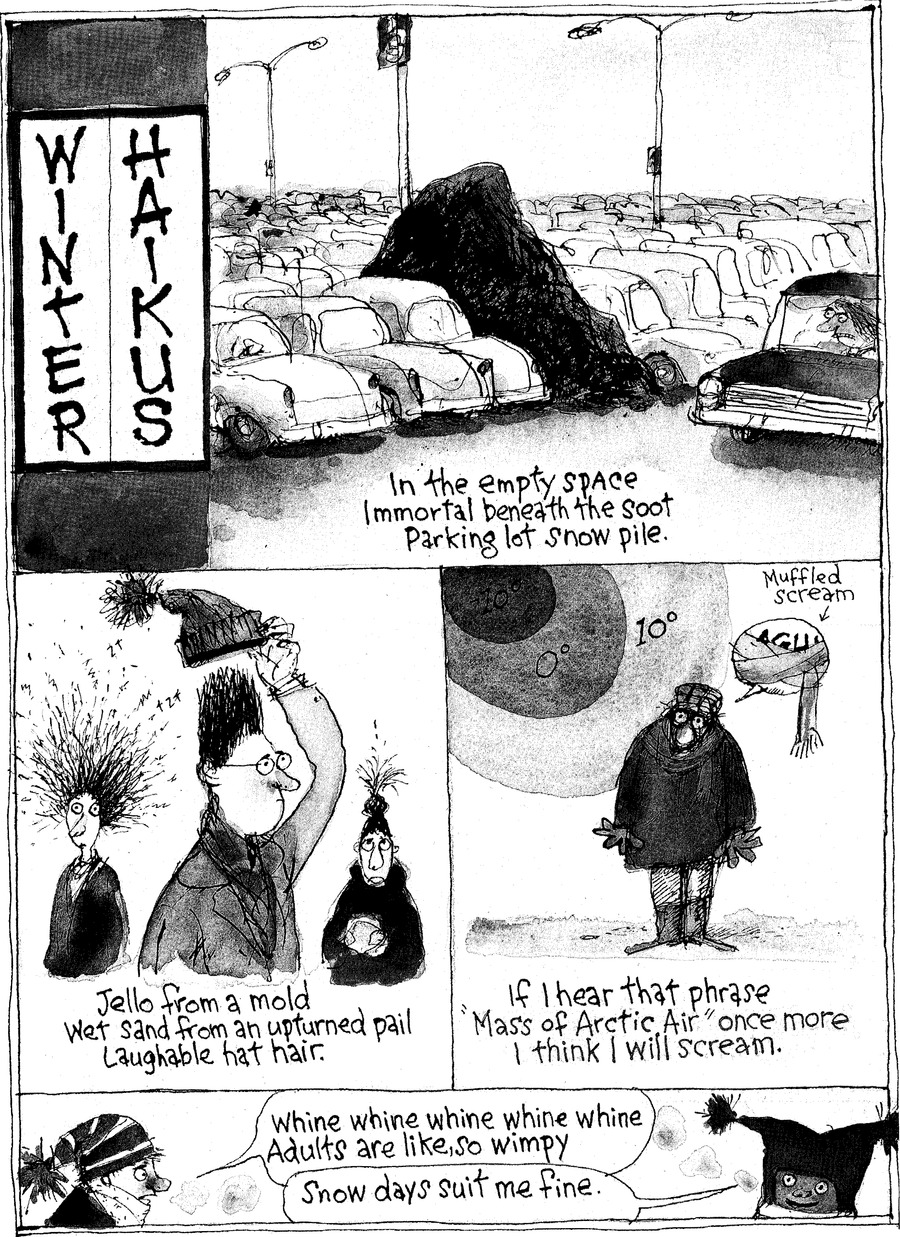 Richard's Poor Almanac Comic Strip for February 13, 2011