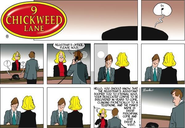 9 Chickweed Lane - Sunday June 25, 2017 Comic Strip