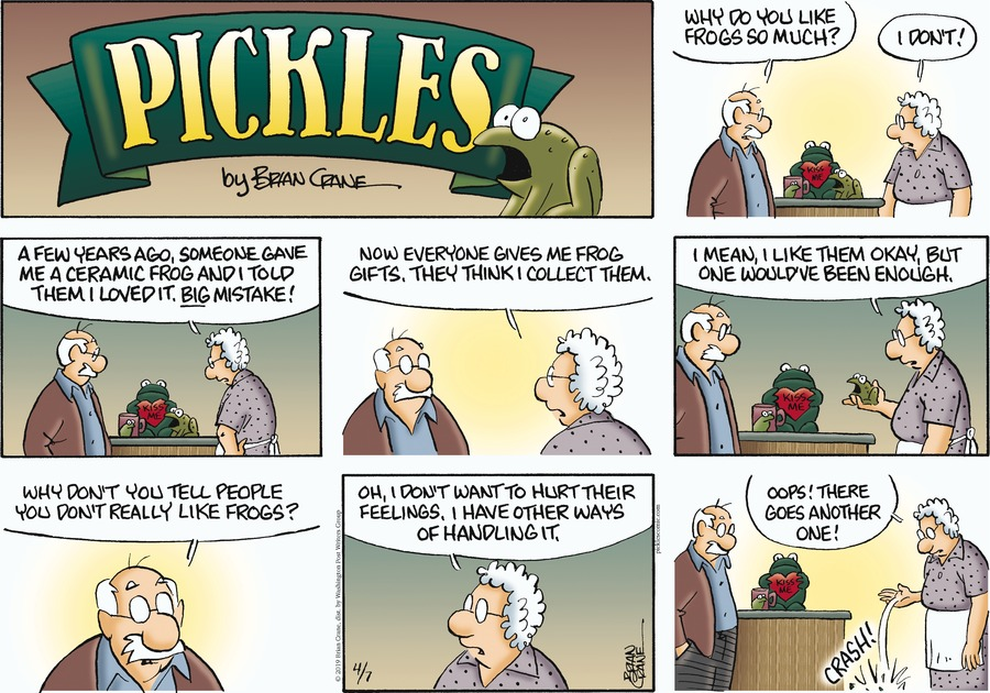 Pickles Comic Strip for April 07, 2019