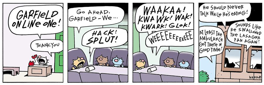 Ten Cats for Jul 24, 2013 Comic Strip