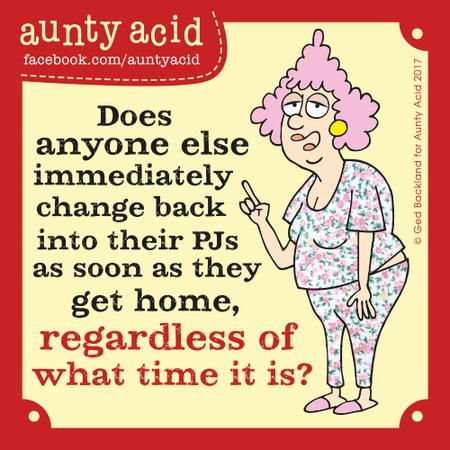 Aunty Acid Comic Strip for September 29, 2017