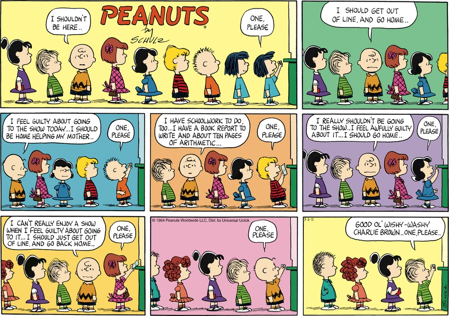 Peanuts Comic Strip for March 06, 2011
