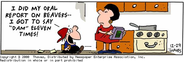 Frank and Ernest for Dec 29, 2000 Comic Strip