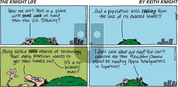 The Knight Life - Sunday April 8, 2012 Comic Strip
