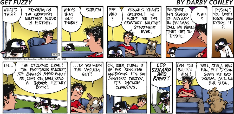 Get Fuzzy Comic Strip for February 26, 2017