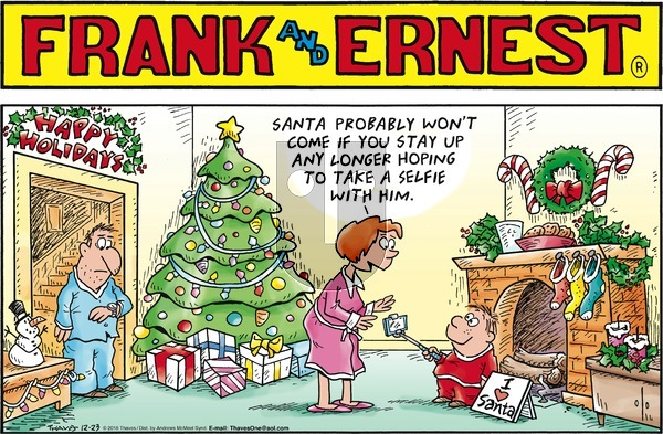 Frank and Ernest on Sunday December 23, 2018 Comic Strip