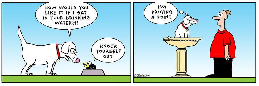 Crumb for Feb 27, 2014 Comic Strip